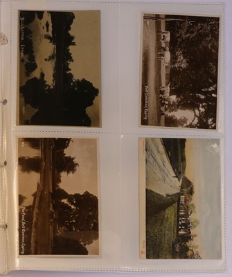 Lot 70C - Fifty four postcards of Epping Essex