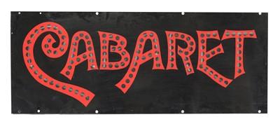 Lot 103 - 'CABARET'