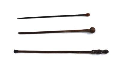 Lot 98 - An African tribal stick
