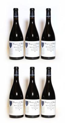 Lot 41 - Hospices de Beaune, Beaune-Greves, Pierre Floquet, 2007, six bottles (boxed)