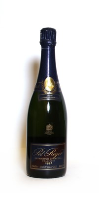 Lot 8 - Pol Roger, Sir Winston Churchill, Epernay, 1998, one bottle (boxed)