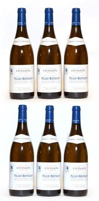 Lot 31 - Puligny Montrachet, 1er Cru, Les Folatieres, Domaine Chanson, 2009, six bottles (owc)