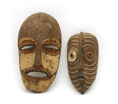 Lot 27 - Two African Tribal masks