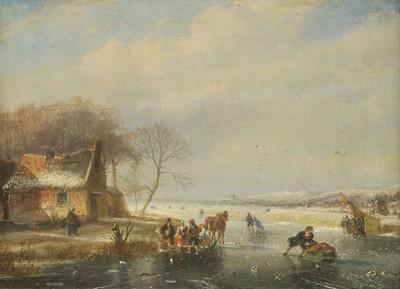Lot 634 - Nicolaas Jan Roosenboom (Dutch, 1805-1880)