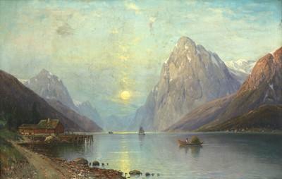 Lot 649 - Carl Bergfeld (German, 1837-1920)