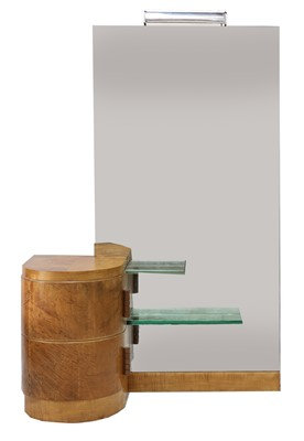 Lot 199 - An Art Deco maple dressing table