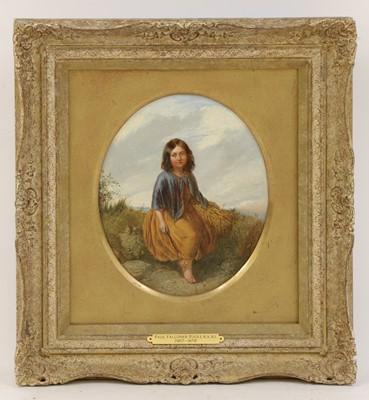 Lot 598 - Paul Falconer Poole RA RI (1807-1879)