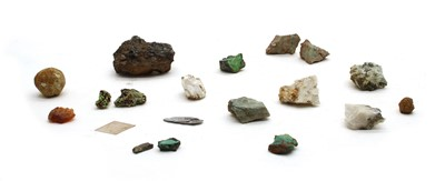 Lot 55 - A quantity of geological specimens