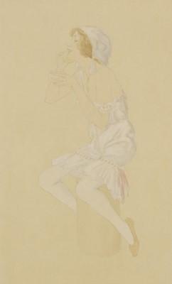 Lot 525 - Raphael Kirchner (Austrian/American, 1876-1917)