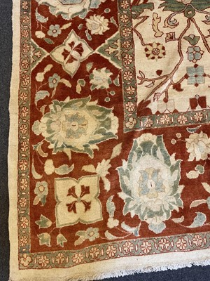 Lot 13 - A large Persian Ziegler Sultanabad carpet