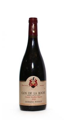 Lot 44 - Clos de la Roche, Cuvee Vieilles Vignes, Domaine Ponsot, 2001, one bottle