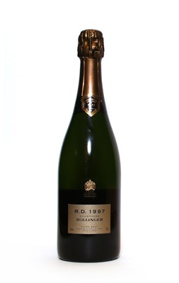 Lot 13 - Bollinger, R.D. Extra Brut, Ay, 1997, one bottle (OWC)