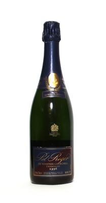 Lot 14 - Pol Roger, Sir Winston Churchill, Epernay, 1996, one bottle