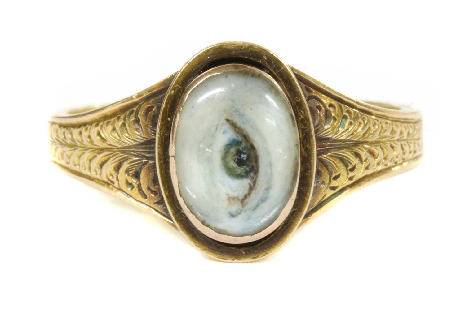 Lot 69 - LOVER'S EYE RING