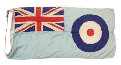 Lot 157 - AN RAF STATION FLAG