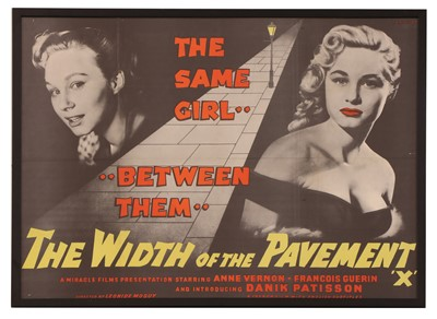 Lot 121 - 'THE WIDTH OF THE PAVEMENT'