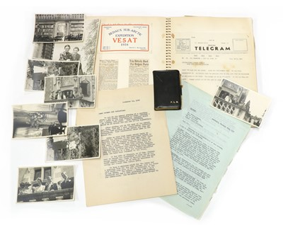 Lot 106 - Fern Bedaux: Original pocket Diary for 1937