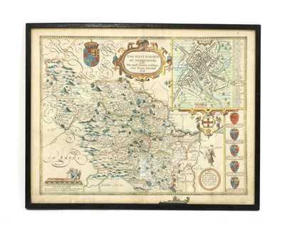 Lot 3 - Speed: Map of the West Riding of Yorkshire