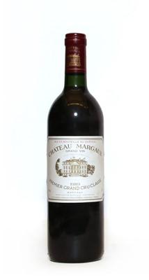 Lot 65 - Chateau Margaux, 1er Cru Classe, Margaux, 1989, one bottle