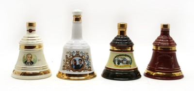 Lot 99 - Bells assorted commemorative whisky decanters of various size