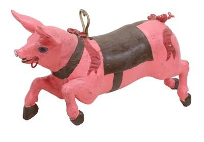 Lot 336 - CAROUSEL PIG