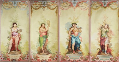 Lot 397 - THE ALLEGORY OF THE FOUR SEASONS