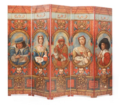 Lot 398 - A SHAKESPEARE SCREEN