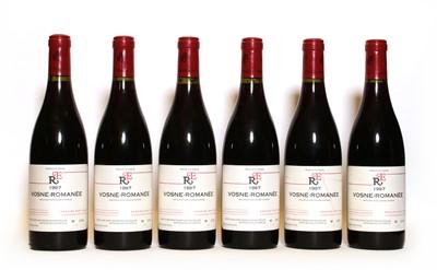 Lot 45 - Vosne Romanee, Domaine Rene Engel, 1997, six bottles