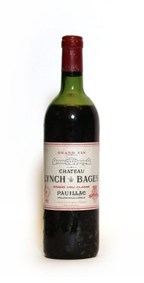Lot 68 - Chateau Lynch Bages, 5eme Cru Classe, Pauillac, 1982, one bottle