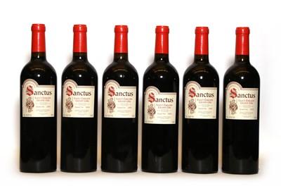 Lot 70 - Chateau Sanctus, Saint Emilion Grand Cru Classe, 2005, six bottles