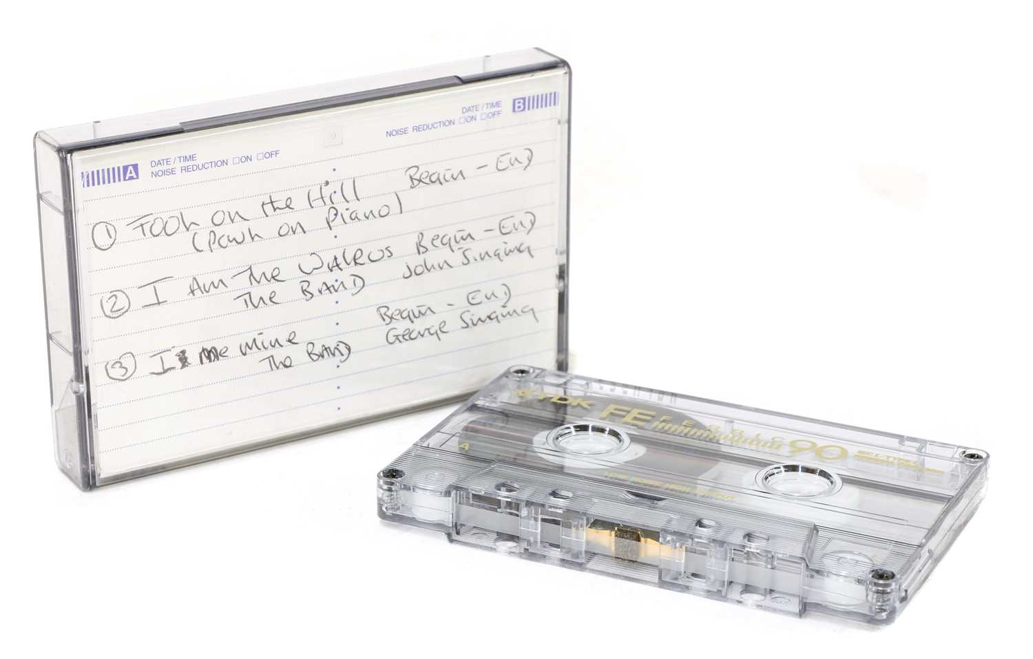 Lot 548 - The Beatles, a demo tape edit