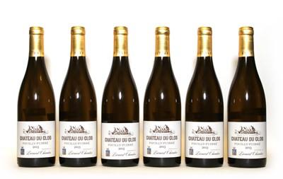 Lot 34 - Pouilly Fuisse, Chateau du Clos, Hommage a Leonard Chandon, 2013, six bottles