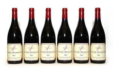 Lot 46 - Vosne-Romanée, Domaine Jean Grivot, 2003, six bottles
