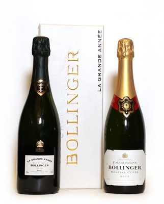 Lot 21 - Bollinger, Grand Annee, Ay, 2000, one bottle and Special Cuvee, Ay, one bottle, two bottles in total