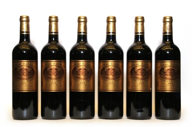 Lot 87 - Chateau Batailley, 5eme Cru Classe, Pauillac, 2004, six bottles