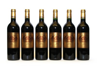 Lot 89 - Chateau Batailley, 5eme Cru Classe, Pauillac, 2000, six bottles