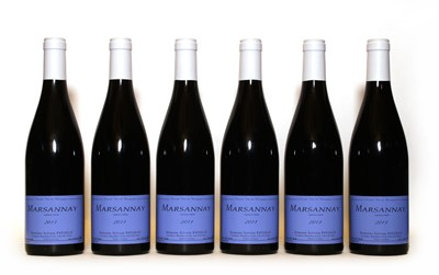 Lot 35 - Marsannay, Sylvain Pataille, 2013, six bottles (boxed)