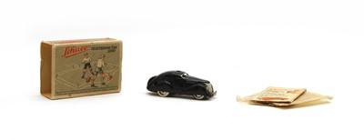 Lot 105 - A boxed Schuco tinplate 'Telesteering Car 3000'