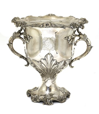 Lot 508 - A Regency silver-plated wine cooler