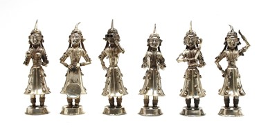 Lot 1 - Six Indian white metal musicians