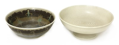 Lot 124 - Two Pilkington's Royal Lancastrian bowls
