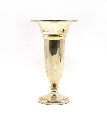 Lot 4 - A large silver filled vase