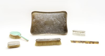 Lot 36 - Dressing table items