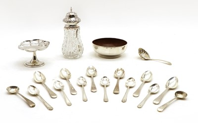 Lot 24 - Silver items