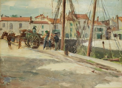 Lot 572 - Attributed to Henri Alberti (French, 1868-1935)