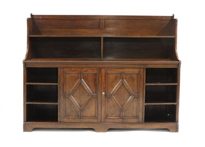 Lot 41 - An Arts and Crafts oak bookcase