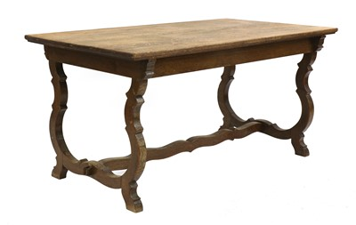 Lot 40 - An Arts and Crafts oak refectory table