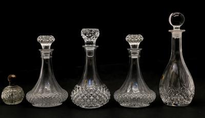 Lot 77 - A cased Gleneagles Edinburgh Crystal set