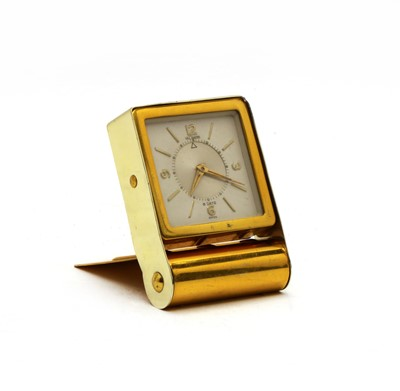 Lot 98 - A Jaeger-LeCoultre eight day travelling clock