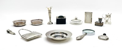 Lot 50 - Assorted silver items